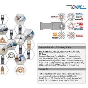 Image 3 - NEWONE многоосциллирующие лезвия пилы Combo HCS/Япония зуб/биметаллический Электрический Реноватор лезвия пилы аксессуары для деревообработки