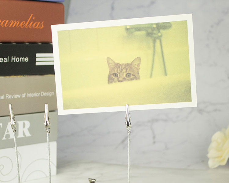 fio memo photo clip suportes, argila &