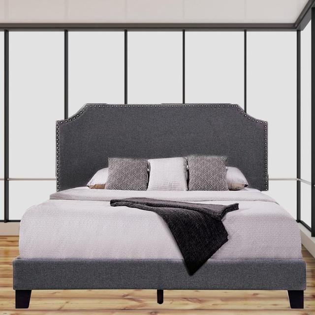 King Size Platform Bed Frame  6