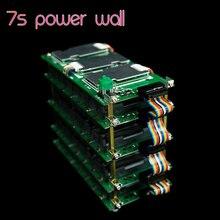 7S güç duvar pil istasyonu 18650 pil kutusu paralel modifiye güç kaynağı kaynaksız yüksek güç koruma levhası