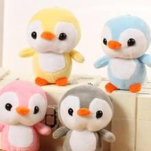 Плюшевый кулон пингвина супер мягкий короткий плюшевый ПП хлопок