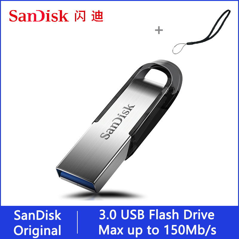 Sandisk USB Flash Drive 32 64 128 16 GB Pendrive 128gb 64gb 32gb 256gb Pen Drive 3.0 USB Stick Disk On Key Memory For Phone
