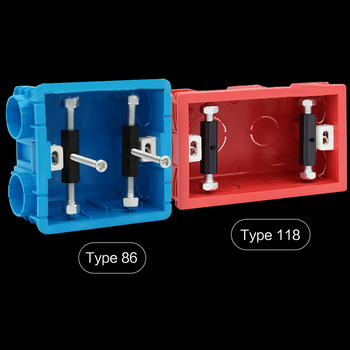 10Set 86/118 Type Wall Switch Socket Cassette Repairer Support Rod for Repair
