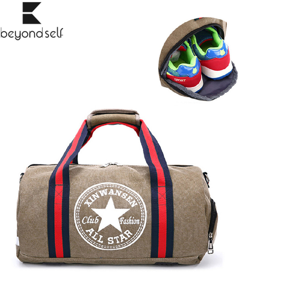 Unisex Gym Bags Sport Bag Men Fitness Football Sports Bag Women Yoga Canvas Handbag Shoulder Travel Outdoor Bag Pack Sport Bags