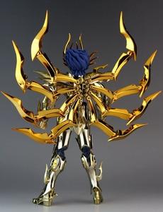 Image 3 - במלאי GreatToys EX סרטן Deathmask Saint Seiya מתכת שריון מיתוס בד זהב Ex פעולה איור