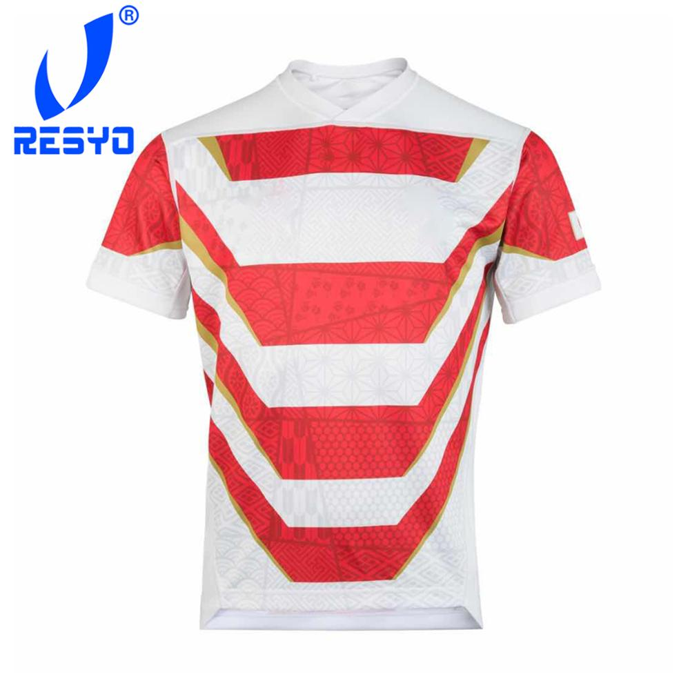 RESYO For JAPAN RUGBY RWC 2019 HOME PRO JERSEY Rugby Sport Shirt Size:S-3XL Free Shipping