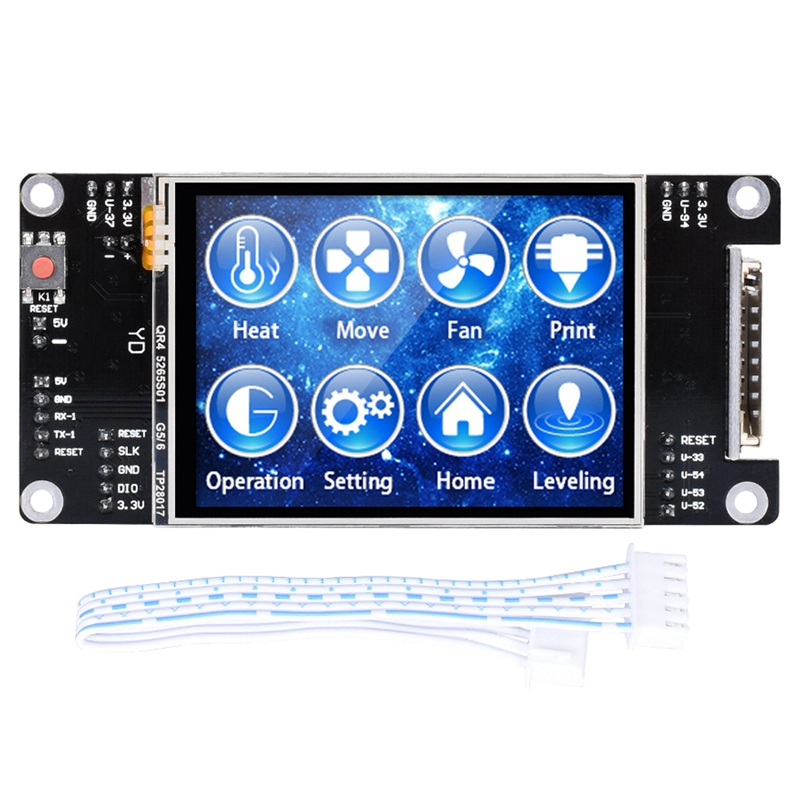 Bigtreetech Tft28 3D Printer Parts Press Screen Display Mks 2.8 Inch Tft Controller Panel Skr Mks Ramps Board image