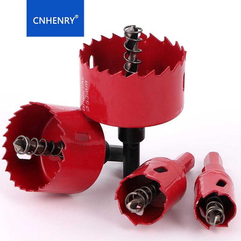 Hole Saws 1PC 20mm-200mm M42 Bi-Metal Drill Bit Cutter Carpentry Tools Cutting Metal Plastic Iron Hand Tools