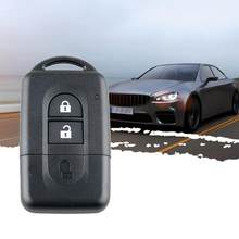 Mini carro remoto chave caso remoto chave fob caso inteligente preto plástico caso chave para nissan qashqai x-trail micra nota pathfinder