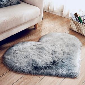 Grey Carpet Plush Soft Carpets For Living Room Christmas Area Rugs for Bedroom Sofa Anti-slip Floor Mats Fluffy Carpet Rugs(China)
