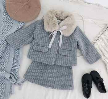 Girls Tops + Pants kid's Cotton Turtleneck Long Sleeve Two-Piece Set - DISCOUNT ITEM  0% OFF All Category