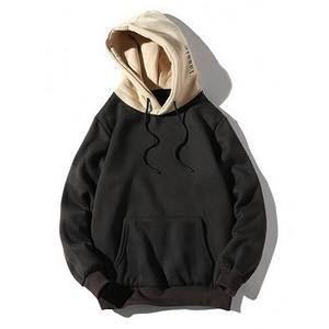 Hoodie Sweatshirt Tracksuit Pullover Men Hip-Hop Men's Casual Patchwork Loose Autumn