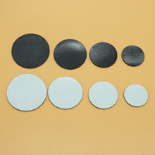 Adesivo magnético de borracha, ímã redondo de borracha, geladeira, 20 peças, 18mm, 23mm, 28mm, 33mm, 38mm cabochon refrigerador quadro negro artesanato diy