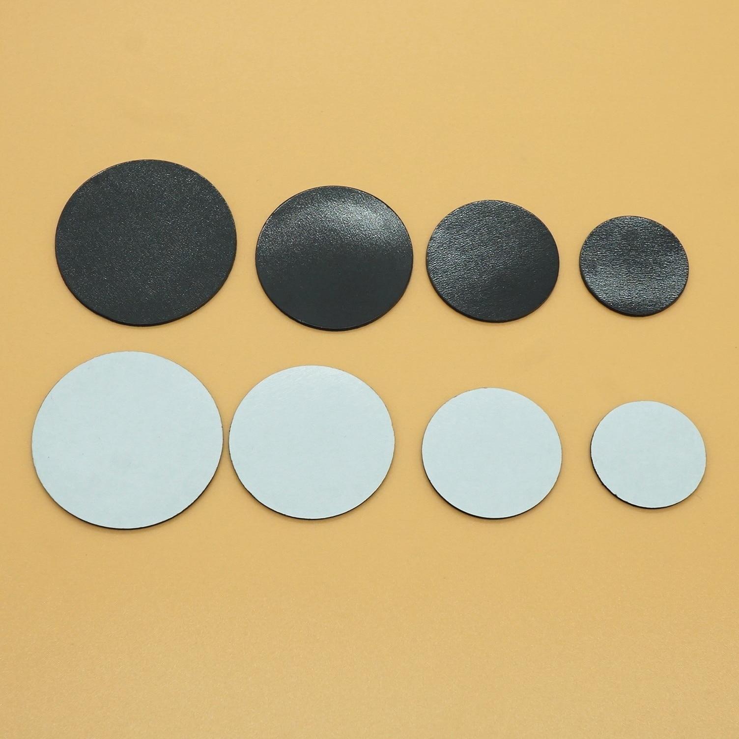 20PCS 23mm 28mm 33mm 38mm Round Magnet Rubber Fridge Magnetic Sticker Fit Glass Cabochon Refrigerator Blackboard DIY Crafts