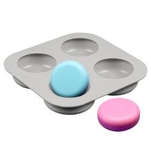 4 Полость вокруг силиконовые формы для мыла делая 3D мыло ручной работы формы лоток