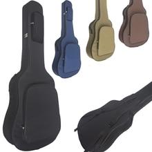 Weysfor 36 38 40 41 Inch Guitar Bag Carry Case Backpack Oxford Acoustic Folk Guitar Big Bag Cover with Double Shoulder Straps