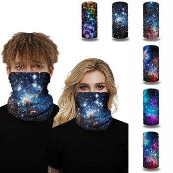 Galaxy Print Face Scarf Balaclava 18