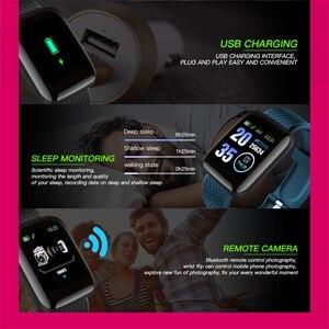 Image 4 - Мужские Смарт часы GEJIAN D13, кровяное давление, водонепроницаемые, умные часы для женщин, пульсометр, фитнес часы, спортивные часы для Android IOS