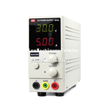 FREE SHIPPING Crafts <font><b>MCH</b></font>-<font><b>K305D</b></font> Mini Switching Regulated Adjustable DC Power Supply SMPS Single Channel 30V 5A Variable <font><b>MCH</b></font> <font><b>K305D</b></font> image