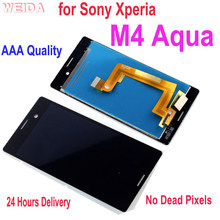 Ensemble écran tactile Lcd de remplacement, 5 pouces, pour Sony Xperia M4 Aqua E2303 E2306 E2353 E2312 E2333 E2363