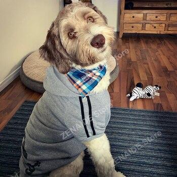 3XL-9XL Dog Cotton Hoodies  2