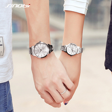 цены Couple watches Mens Wristwatches Top Brand Casual Quartz Watch Woman Clock Lovers Dress Fashion Wedding Gift With Gift Box