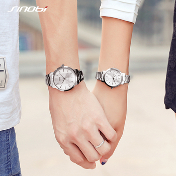 Couple watches Mens Wristwatches Top Brand Casual Quartz Watch Woman Clock Lovers Dress Fashion Wedding Gift With Gift Box brand c jewelry sets of 2 quartz watch and bracelet with gift box