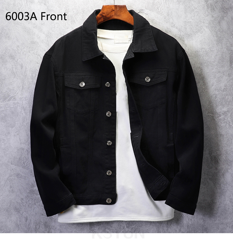 KSTUN Mens denim Jacket Jeans jackets red jean jacket regular fit Bomber Jacket cotton 2019 brand jacket men's coats Chaqueta Hombre 10