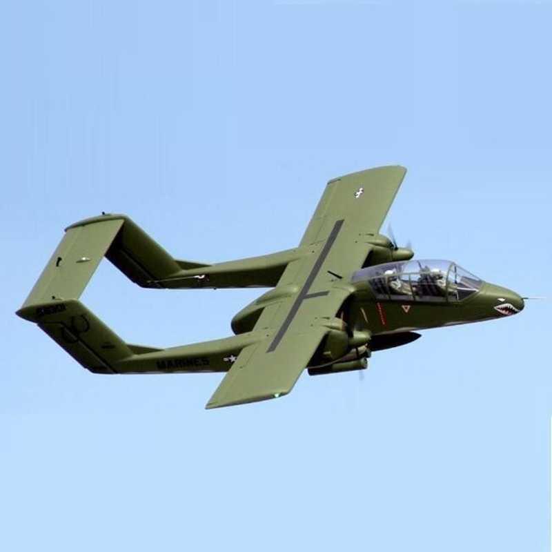 Freewing flightlineリモコン攻撃機 1400 ミリメートルOV 10 ブロンコ ...