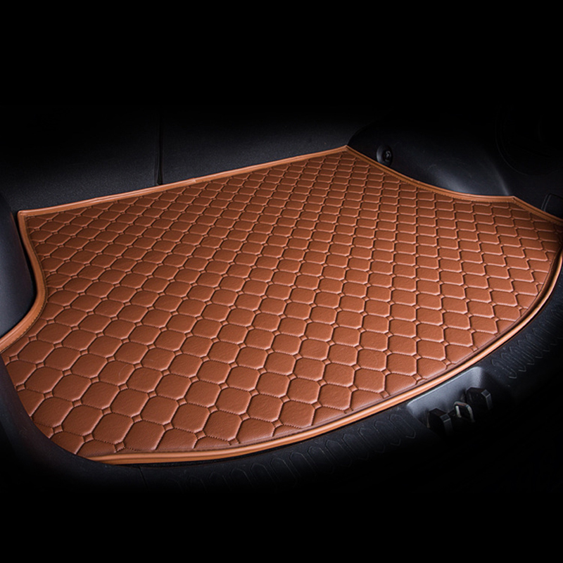 Custom Car Mat Trunk For BMW All Medels X3 X1 X4 X5 X6 Z4 525 520 F30 F10 E46 E90 Car Styling Custom Car Cargo Liners Rug