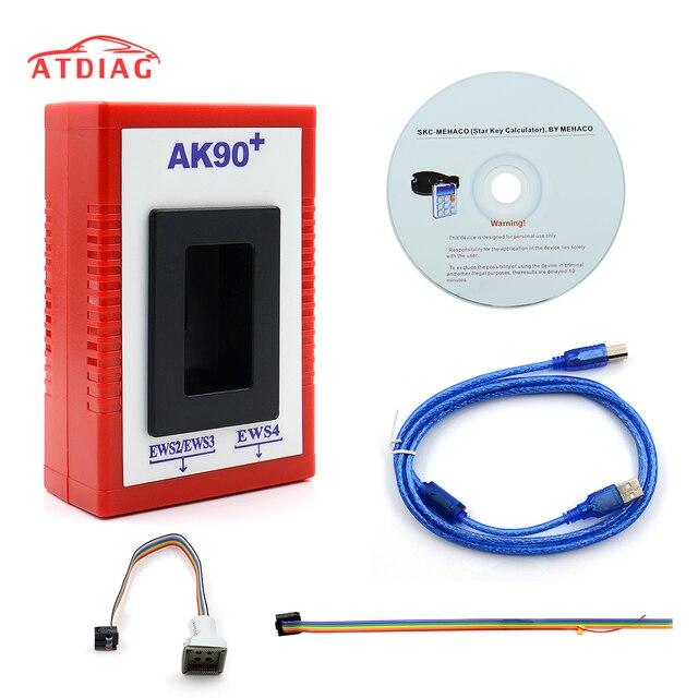 V3.19 AK90 For BMW AK90+AK90 Key Programmer Tool For All EWS AK 90 Key Maker AK 90 With Car Styling Free Ship