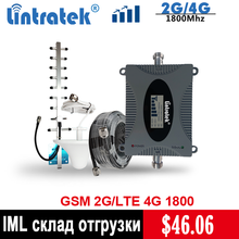Lintratek 4G Signal Repeater LTE 1800mhz Signal Amplifier 65dB GSM1800 Repeater (Band 3) 4G Cellphone Signal Booster Set @5