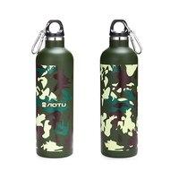 600ML Outdoor Sport Flasche Durable Edelstahl Camouflage Isolierung Topf Reise Wandern Tragbare Auto Becher|Sportflaschen|Sport und Unterhaltung -