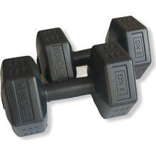 Iluminado Esporte 3 kg Jogo do Dumbbell 2 X3KG 6 Total kg