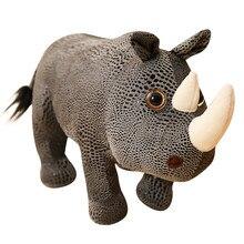 Peluche de rhinocéros, Sexy, fantaisie, Animal doux, poupée de rhinocéros, pour enfants, cadeaux de noël, 28cm/35cm/45cm, 1 pièce
