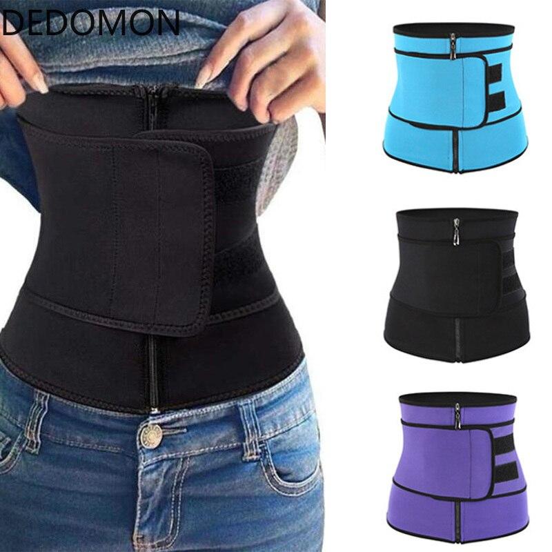 Body Shaper Trimmer Anti Cellulite Waist Trainer Corset For Weight Loss Sport Workout Girdle Wrap Slimming Belt Fat Burner Belt