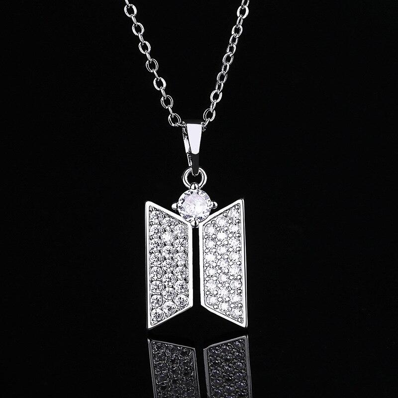 BTS Jewelry Logo Necklace 8