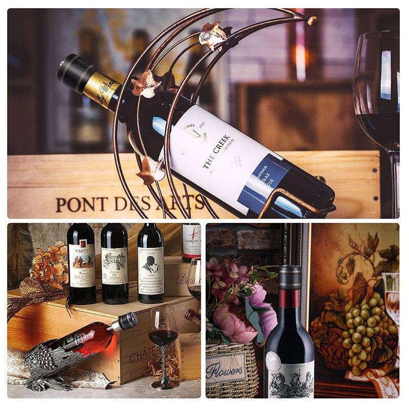 Multifunction Bottle Password Lock Wine Bottles Vacuum Stopper Conservation New