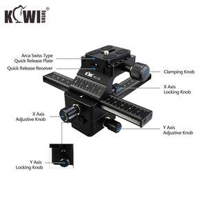 Image 4 - Kiwi Macro Focusing Rail Slider for Canon EOS 5D Mark IV III 6D Mark II 90D 80D 70D Nikon D750 D780 D850 Z7 Z6 Z5 Z50 Sony Fuji