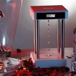 Purificador de aire anión antigravedad, con reflujo de reloj de arena, creativa gota de agua