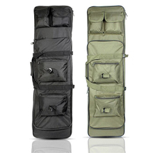 Acessórios de rifle tático airsoft rifle caso arma caça saco de arma de náilon hoslter ombro mochila 3 tamanho