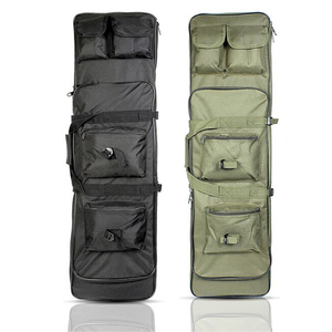 Image 1 - Taktik tüfek aksesuarları Airsoft tüfek tabanca kılıfı av çanta naylon silah kılıf omuz sırt çantası 3 boyutu