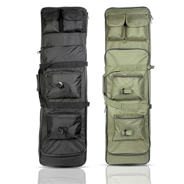 Taktik tüfek aksesuarları Airsoft tüfek tabanca kılıfı av çanta naylon silah kılıf omuz sırt çantası 3 boyutu