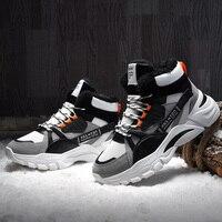 Fashion Men Casual Shoes Autumn Winter Boots Men High Top Sneakers Krasovki Male Luxury Footwear Botas Hombre Zapatos De Hombre