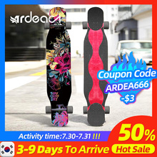 Ardea Per Adulti Lungo bordo di skateboard A quattro ruote longboard bambino Spider Camion Danza Childern skateboard custom