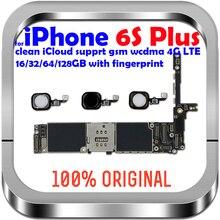16gb / 64gb / 128gb desbloqueado para iphone 6s mais placa mãe com/sem toque id placa lógica para iphone 6s 5.5 polegada