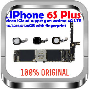 Image 1 - 16gb / 64gb / 128gb  unlocked for iPhone 6S Plus Motherboard with / without Touch ID Logic board for iphone 6s 5.5inch