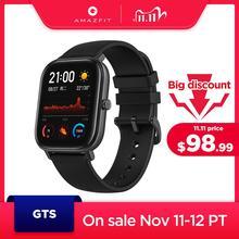 במלאי גלובלי גרסה Amazfit GTS חכם שעון 5ATM עמיד למים שחייה Smartwatch 14 ימים סוללה מוסיקה בקרת עבור אנדרואיד