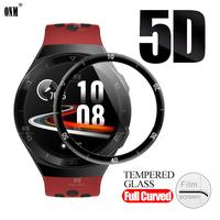 GT2E 5D Curved Edge Full Coverage Soft Protective Film Cover For Huawei Watch GT 2e Sports Vitality Screen Protector (Not Glass)