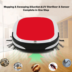 Hot Rechargeable Smart Vacuum Cleaner Robot 3200PA Mopping Sweeping Suction Cordless Auto Dust Sweeper Machine for Home Cleaning